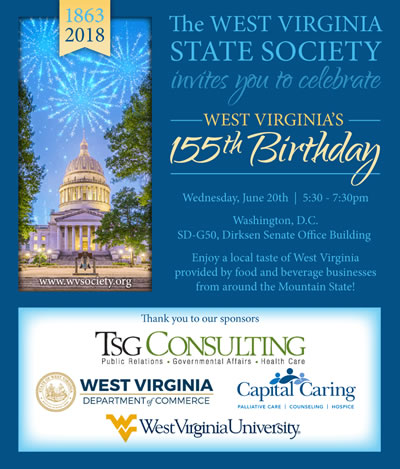 Join LeSage Naturals and other West Virginia vendors in Washington, DC on June 20!