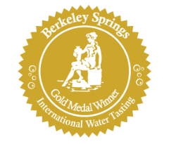 LeSage Natural received the Gold Metal for taste at the prestigious Berkeley Springs International Water Tasting.