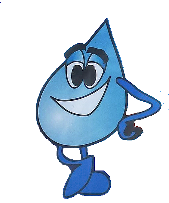 LeSage Natural mascot Drippy